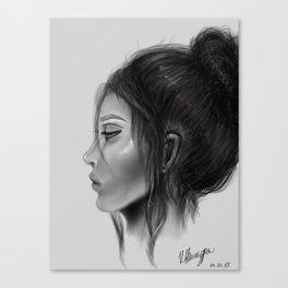 Sleepless Nights Canvas Print