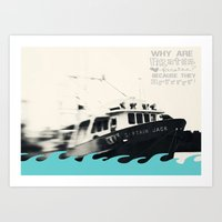 pirates Art Prints featuring Pirates by Ambrosia Imagery