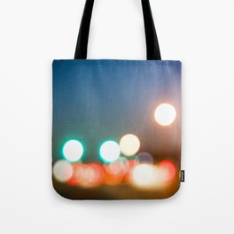Blurry Lights in Montreal Tote Bag