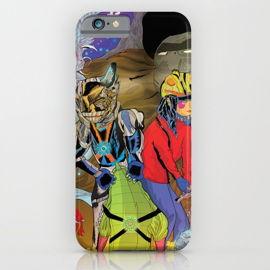 Living In a World of Monsters iPhone & iPod Case