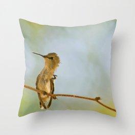 Itchy Bird Throw Pillow