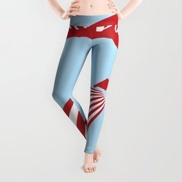 Patriot Day - September 11 - Send the best Wish to those who suffered Leggings