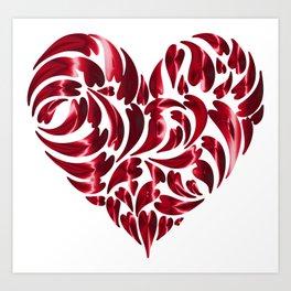 My Puffy Heart Art Print