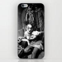 nurse iPhone & iPod Skins featuring Nurse & Clowns by Flashbax Twenty Three