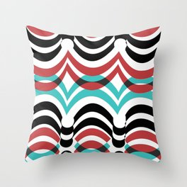 ringsrib2 Throw Pillow