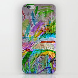Lily's Watercolor iPhone Skin