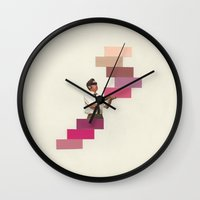 wedding Wall Clocks featuring Wedding Crasher  by KUBISM