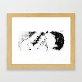 The Kiss (060413) Framed Art Print