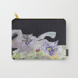 Fat Cats Carry-All Pouch