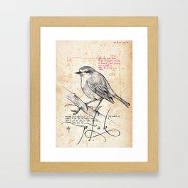 Bird 02 Framed Art Print
