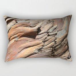 Eucalyptus tree bark texture Rectangular Pillow