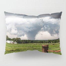 Siren - Large Tornado In Texas Panhandle Pillow Sham
