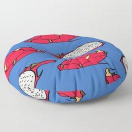 Pitaya fruit pattern Floor Pillow