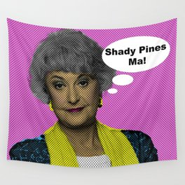 Shady Pines Ma! : The Golden Girls Wall Tapestry
