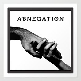 ABNEGATION - DIVERGENT (draw by me) Art Print