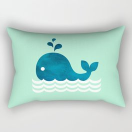Little Whale Rectangular Pillow