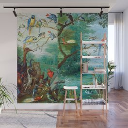 Jan van Kessel - Concert of birds Wall Mural