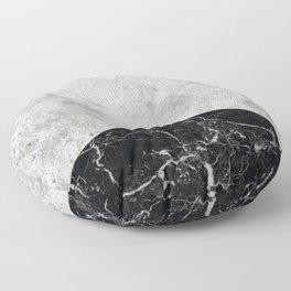 Concrete Arrow - Black Granite #844 Floor Pillow