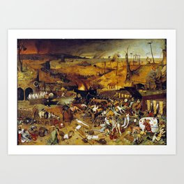 Bruegel the Elder The Triumph of Death Art Print