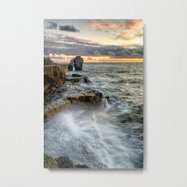 Sunset at the Pulpit Metal Print