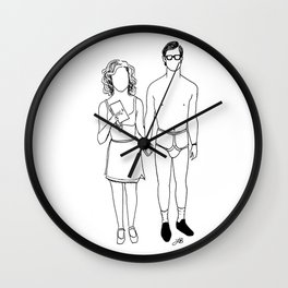Dammit, Janet. Wall Clock
