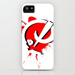 Badass Art Logo v2 iPhone Case