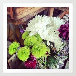 Bouquet Beauty Art Print