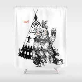 Osito hau! Shower Curtain