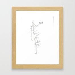 paper_11 Framed Art Print