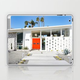 Mid Century Orange Laptop & iPad Skin