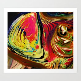 repetitions Art Print