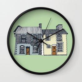 'Norfolk' House Print Wall Clock