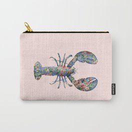 FLORAL LOBSTER Carry-All Pouch