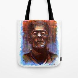 Frakenstein's Monster Tote Bag