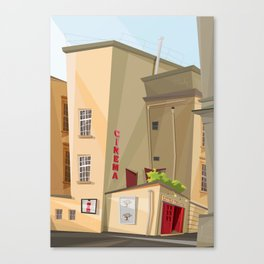 Little Theater Canvas Print