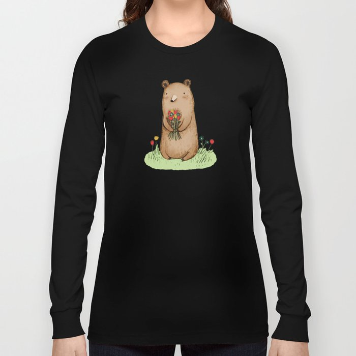 Bear Bouquet Long Sleeve T-shirt