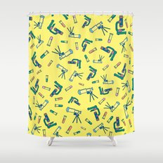 BP 49 Science Shower Curtain