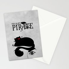 The Black Pirate Stationery Cards