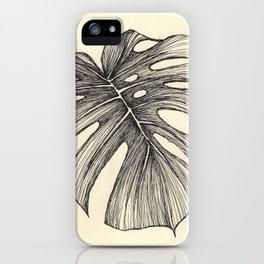 hoja 2 iPhone Case