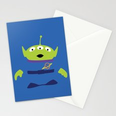 Toy Story Alien Stationery Cards