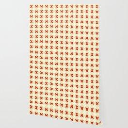 Red butterflies Wallpaper