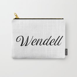 Name Wendell Carry-All Pouch