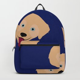 Chauncey The Golden Retriever Backpack