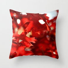 ABSTRACT FALL Throw Pillow