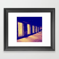 Imperfect Division Framed Art Print