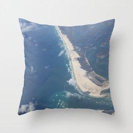 The Spit Gold Coast Australia Throw Pillow