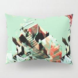 Urban Scape Fragments Pillow Sham