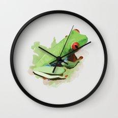 Red Eye Wall Clock
