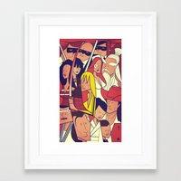 kill bill Framed Art Prints featuring Kill Bill by Ale Giorgini