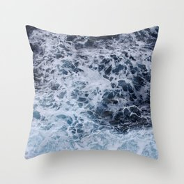 Ocean's Lullaby Throw Pillow